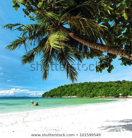 Tropikal tatil kare hdr gökyüzü deniz Stok fotoğraf © moses