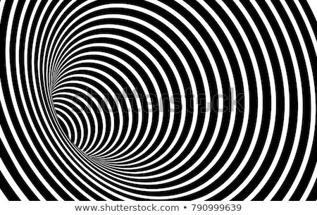 Optische Täuschung Tanz Retro Muster Hintergrund Konzept Stock foto © fixer00