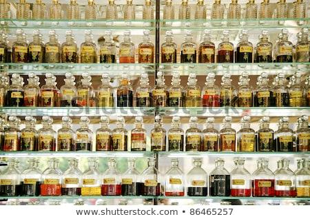 духи магазин Каир Египет бутылку рынке Сток-фото © travelphotography