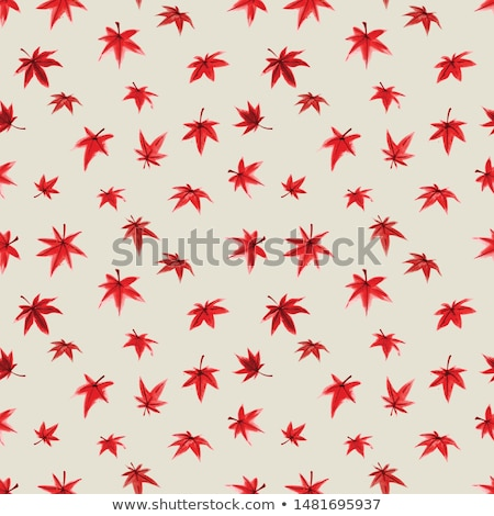 background of japanese maple leaves in autumn stock photo © arrxxx