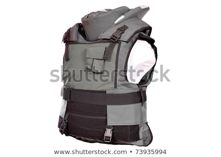 Green Bulletproof vest Stock photo © ozaiachin