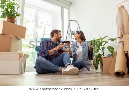 couple celebrating new home stock photo © photography33
