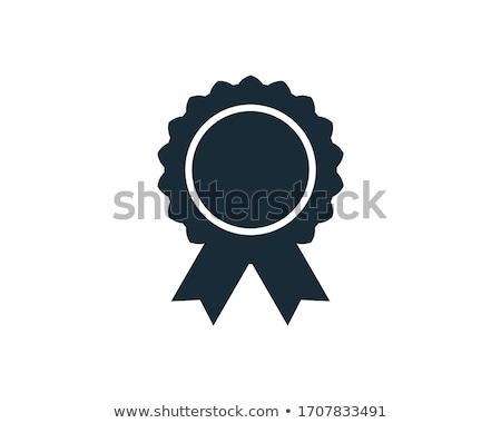 prêmio · projeto · assinar · azul · vermelho · jogos - foto stock © rtguest