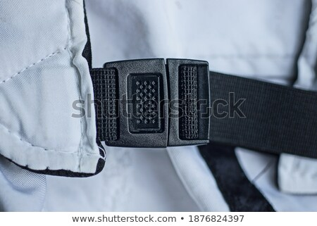 black closed nylon travel case with Stock photo © shutswis