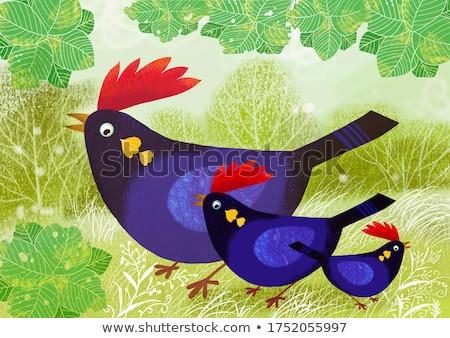 small animals cartoon stock photo © dagadu