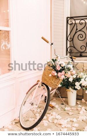 カフェ 屋外 赤 ストックフォト © obscura99