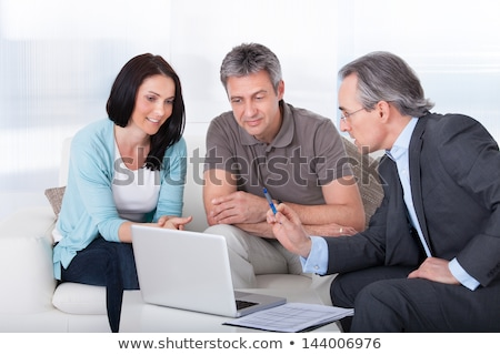 Investing advice and financial guidance Stock photo © Lightsource