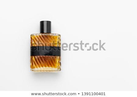 бутылку изолированный женщину красоту женщины Lady Сток-фото © shutswis