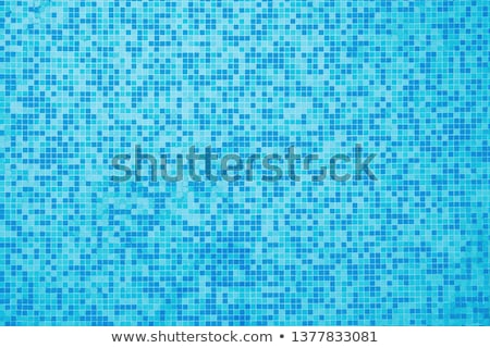 Muster Unterseite modernen Schwimmbad Wasser Licht Stock foto © Bertl123