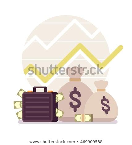 Lucro pequeno grande imagem símbolo negócio Foto stock © grechka333