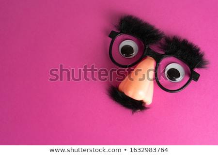 Masker vector illustraties ogen bril neus Stockfoto © radivoje