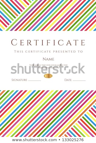 Golden colors graduated vertical lines pattern background. Stock photo © latent