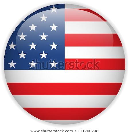 Сток-фото: набор · Кнопки · США · красочный
