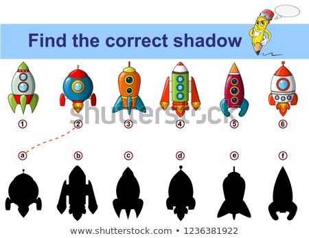 spot · differenze · gioco · ragazzi · cartoon · illustrazione - foto d'archivio © adrian_n