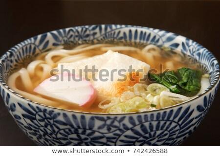 chikara udon noodles stock photo © varts