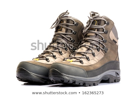 Pair of trekking shoes Stock photo © AndreyPopov