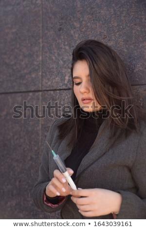 Portre bakım profesyonel kadın sağlık çalışma Stok fotoğraf © kasto