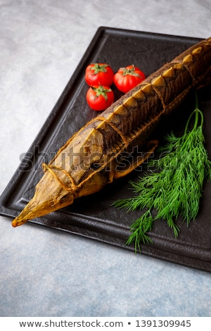 Smoked Sturgeon Stock photo © zhekos