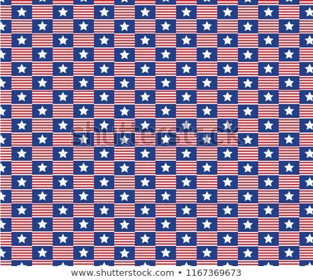 Americano dia celebração vetor fundo Foto stock © bharat
