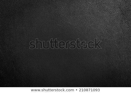 Grey leather texture closeup Stock photo © homydesign