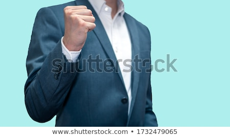 businessman fist stock photo © petrmalyshev