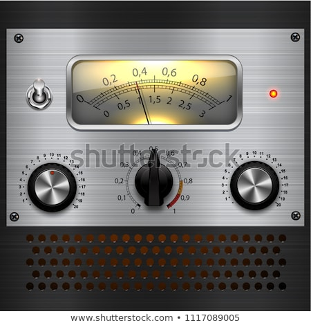 amplifier controls stock photo © wime