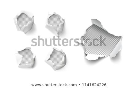 Bullet holes rips and scratches Stock photo © Krisdog