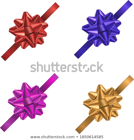 multi colored bows set Stock photo © enlife
