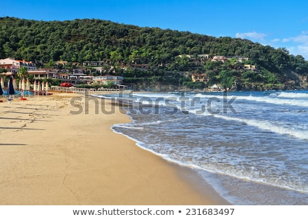 LA tengerpart homokos híres égbolt természet Stock fotó © Antonio-S