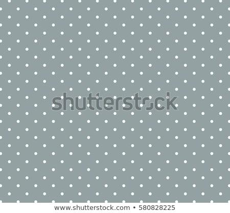 light green fabric with white polka dots stock photo © zerbor