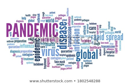 Word Cloud - Ebola Stock photo © Zerbor