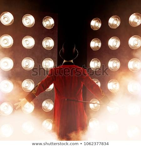 stage performer Stock photo © nelsonart