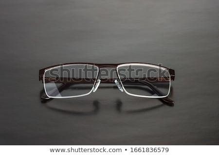 plastic rimmed eyeglasses Stock photo © nito