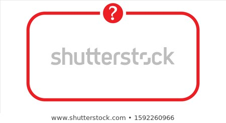 faq red vector icon design stock photo © rizwanali3d