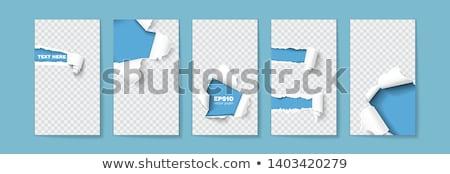 içerik · yırtık · kağıt · kelime · arkasında · yırtılmış · ambalaj · kâğıdı - stok fotoğraf © ivelin