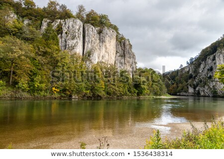 Stock photo: Danube breakthrough