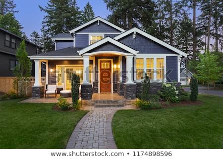 New House Night Stock photo © Hasenonkel