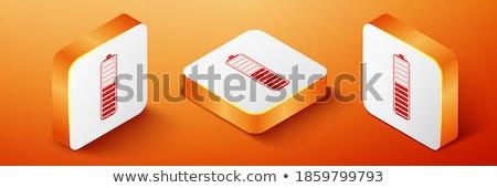 оранжевый · телефон · кнопки · изолированный · белый - Сток-фото © rizwanali3d