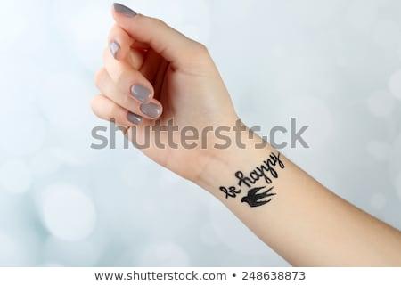 руки · женщину · океана · Гавайи - Сток-фото © iofoto
