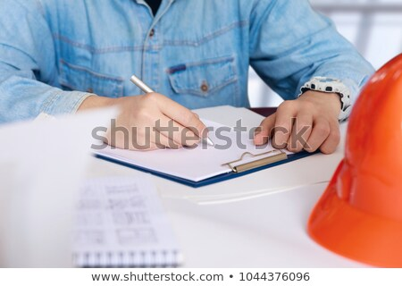 Business plan write on folder Stock photo © fuzzbones0