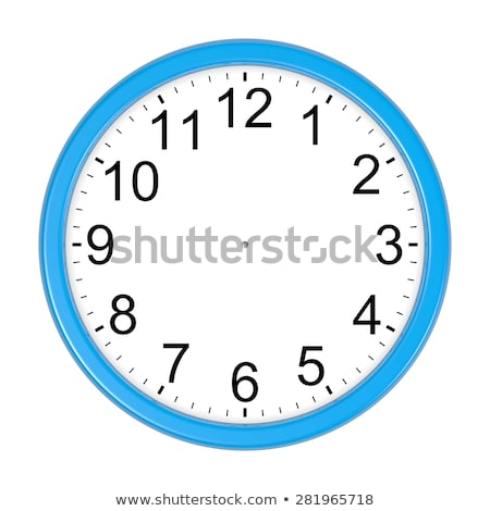 Isolated Customizable Blue Clock Stock photo © make