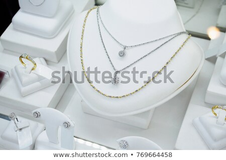 Necklace, pendent, ring and earrings Stock photo © kirs-ua