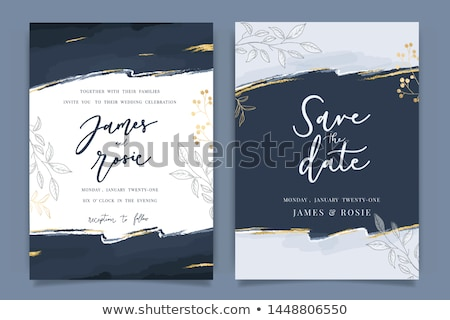 Romantic vintage card design  Stock photo © Morphart