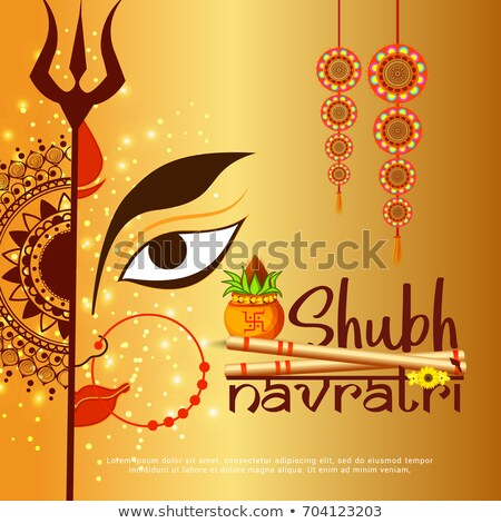 abstract artistic navratra background Stock photo © pathakdesigner