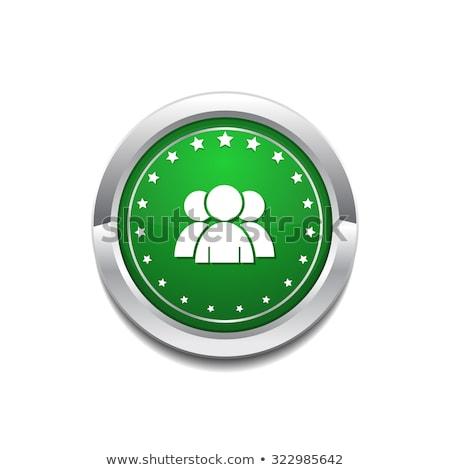 User Circular Vector GreenWeb Icon Button Stock photo © rizwanali3d