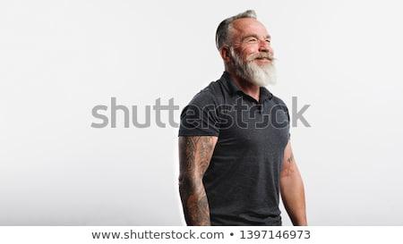 çıplak · gövde · genç · kas · adam - stok fotoğraf © deandrobot