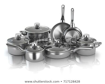 kitchen ware isolated Stock photo © shutswis