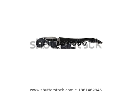 Corkscrew isolated Stock photo © shutswis
