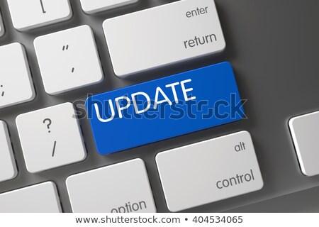 Aktualizacja obraz tekst Internetu projektu Zdjęcia stock © magann