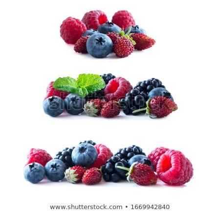 mixed fruit on white stock photo © franky242